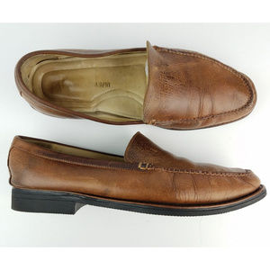 Johnston & Murphy Re-Soled Loafers